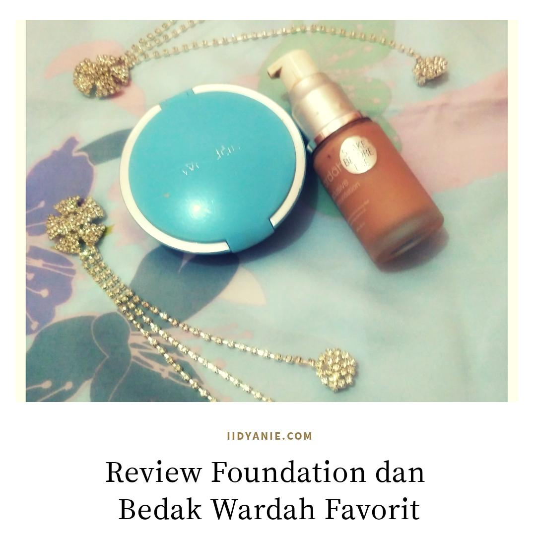 review foundation dan bedak wardah favorit