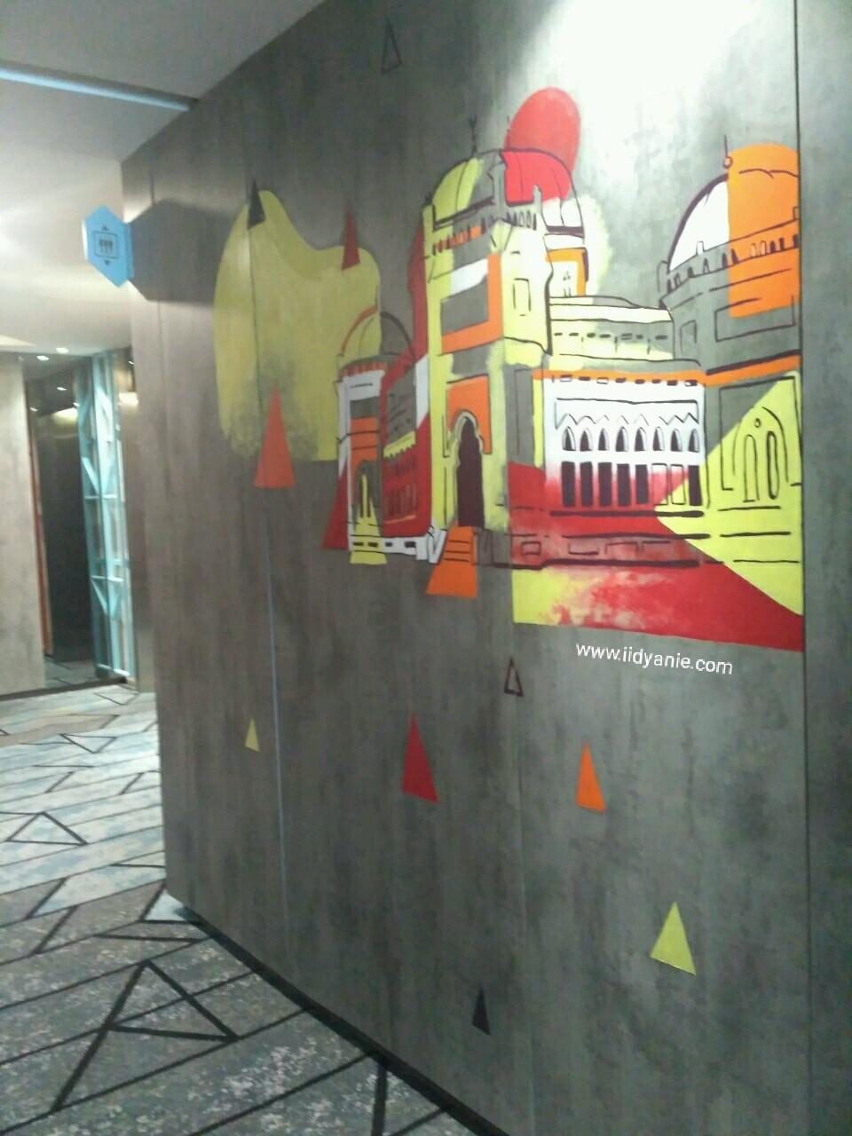 mural mesjid raya medan