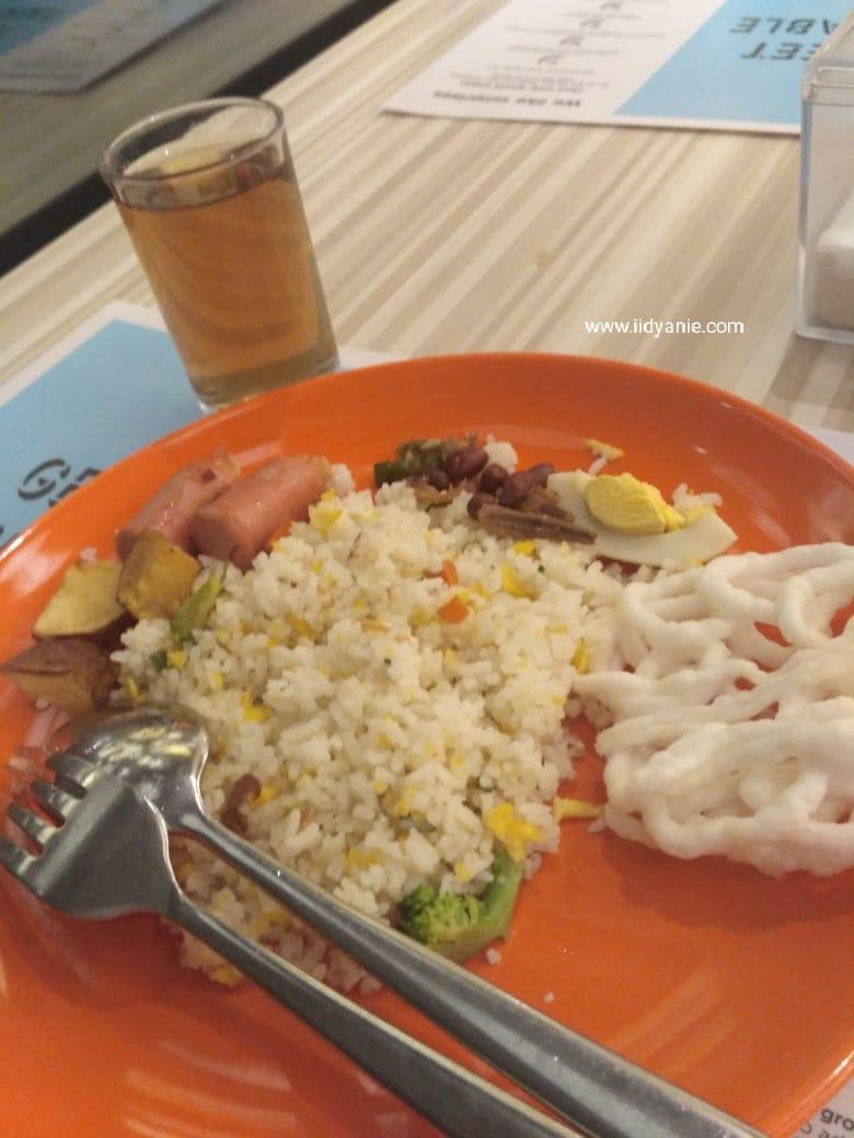 menu nasi goreng di ibis styles medan
