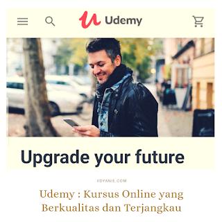 udemy kursus online yang berkualitas dan terjangkau