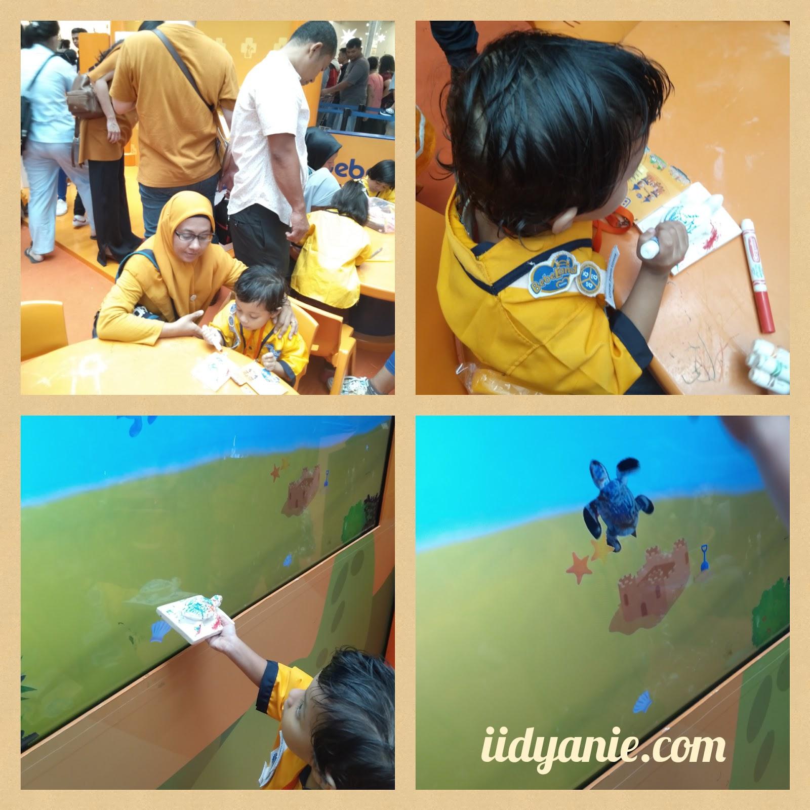 bermain di bebe sea preserve the turtle bebeland