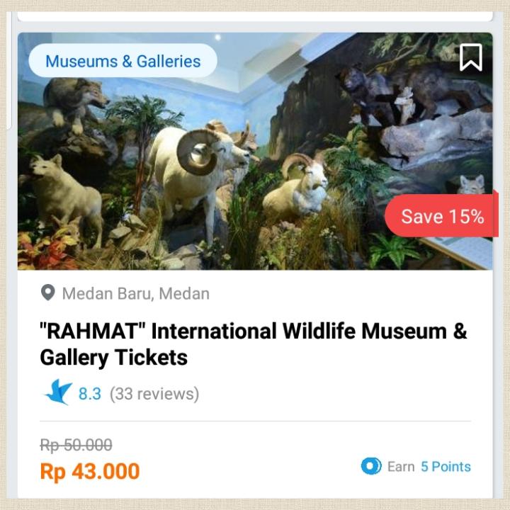 rahmat international wildlife museum gallery traveloka xperience