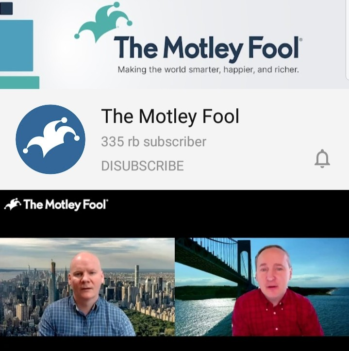 youtube channel about investment the motley fool