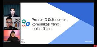 produk pendukung bisnis G suite kelas google