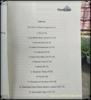 daftar isi review buku pelayaran tristan kumpulan cerita pendek rohyati sofjan