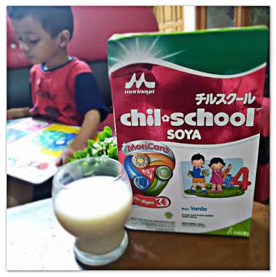 rizki dan morinaga chil school susu soya