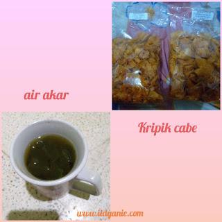 air akar dumai keripik peda kripik cabe kuliner khas dumai