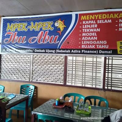 mpek-mpek Ibu Abu kuliner Dumai yang legendaris dan dirindukan para alumni sekolah Dumai