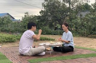 our little summer vacation variety show diperankan oleh jung yu mi dan choi woo-shik