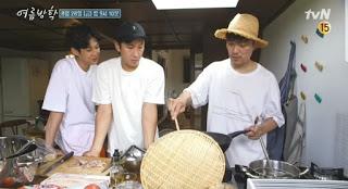 bintang tamu guest star variety show our little summer vacation lee sun kyun dan park hee soon