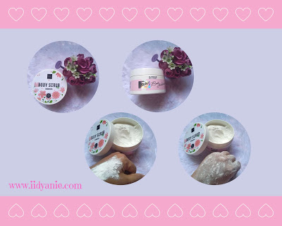review scarlett whitening body scrub romansa mengandung glutathione vitamin e dan cara pakai