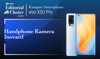 smartphone terbaik kamera inovatif vivo x50 pro pricebook editorial choice 2020