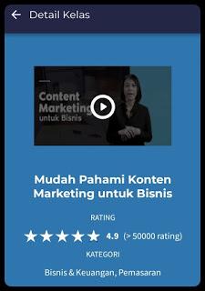 mudah pahami konten marketing untuk bisnis kelas online skill academy