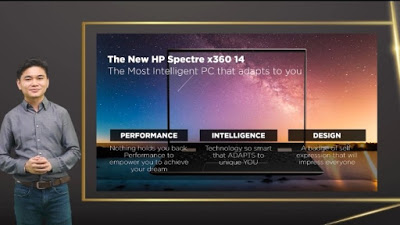 keunggulan hp spectre x360 14 performa kecerdasan desain