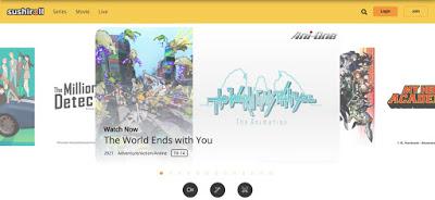 cara menonton streaming anime online di aplikasi