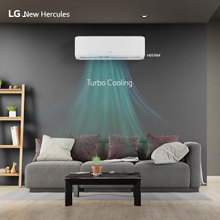 ac lg new hercules fitur terbaru turbo cooling yang mempercepat pendinginan