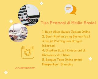 tips melakukan promosi produk dan brand di sosial media