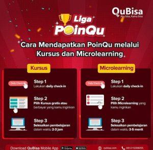 cara mendapatkan poinqu di QuBisa.com