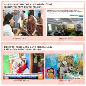 program kesehatan yang mendukung kesehatan reproduksi remaja
