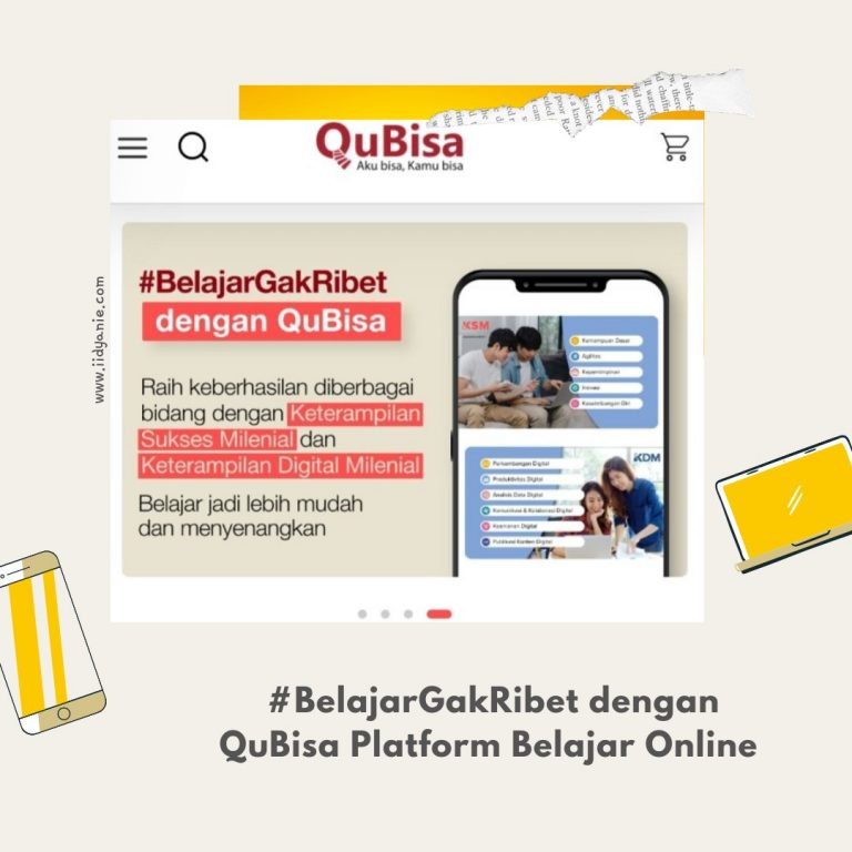 QuBisa platform belajar online kursus online gratis