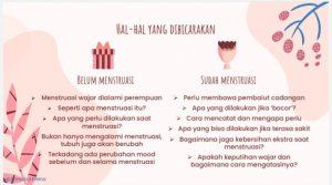 Tips bicara menstruasi perhatikan hal yang harus dibicarakan
