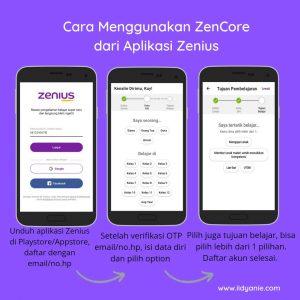 Download aplikasi Zenius pada android atau ios dan cara mendaftar Zenius