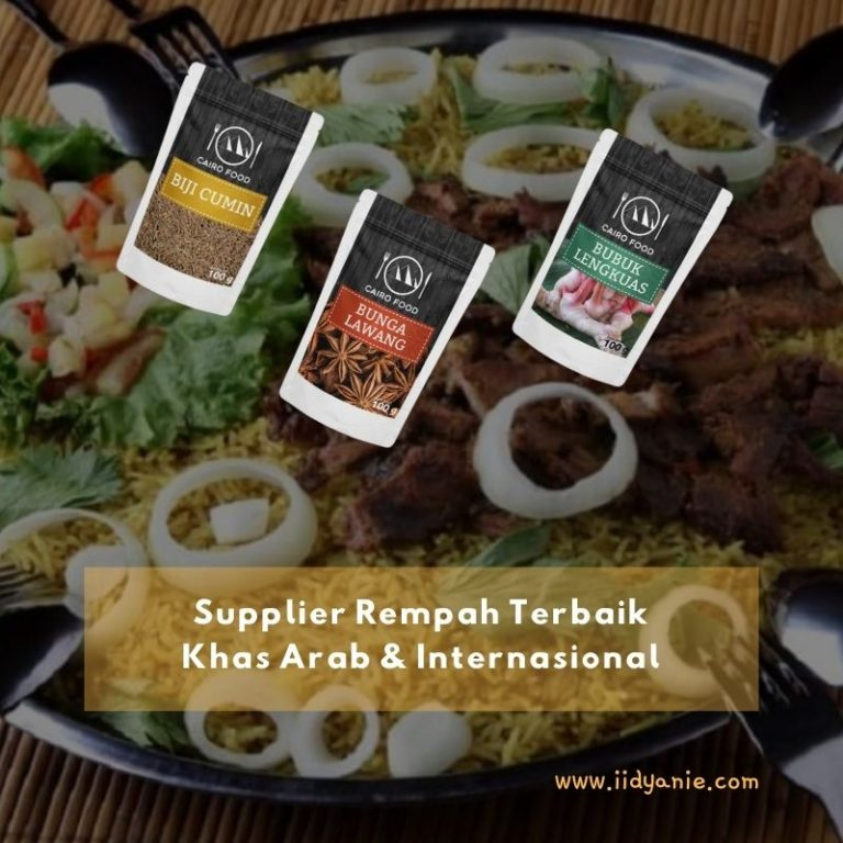 Supplier rempah terbaik kuliner khas arab dan internasional cairo food