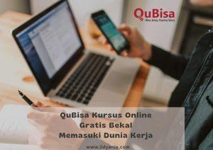QuBisa kursus online gratis bekal skill memasuki dunia kerja