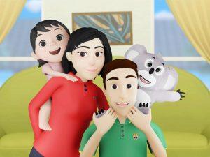 Keluarga hoala dan koala saluran youtube anak