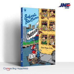 Peluncuran buku bahagia bersama kang maman mice dan JNE