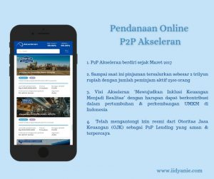Pendanaan online umkm mendukung pertumbuhan ekonomi p2p lending akseleran izin resmi dari OJK