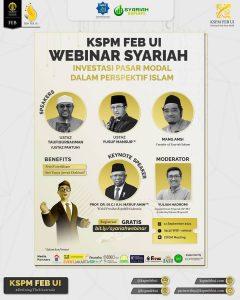 webinar syariah kspm feb ui investasi pasar modal dalam perspektif islam
