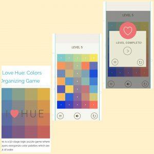 Game online menyenangkan i love hue colors organizing game dari plays org