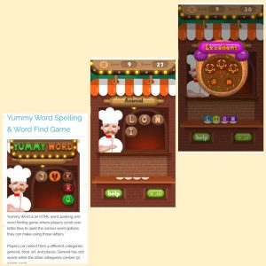 Yummy word spelling and word find game dan keunggulan game online di plays org
